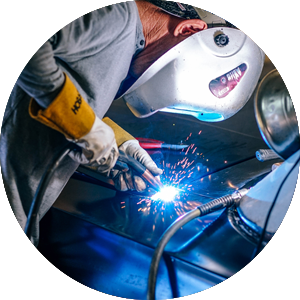 Galley equipment repairs and welding