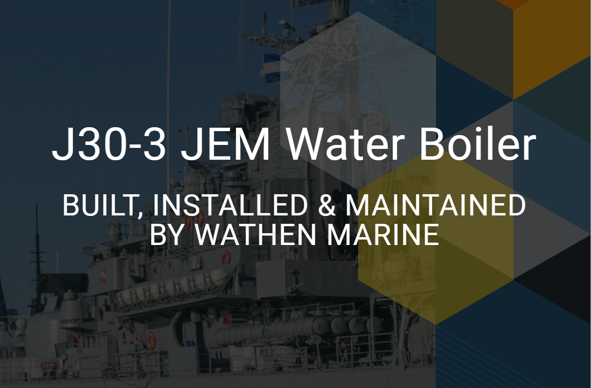 JEM 30 Water Boiler Manufactured by Wathen Marine
